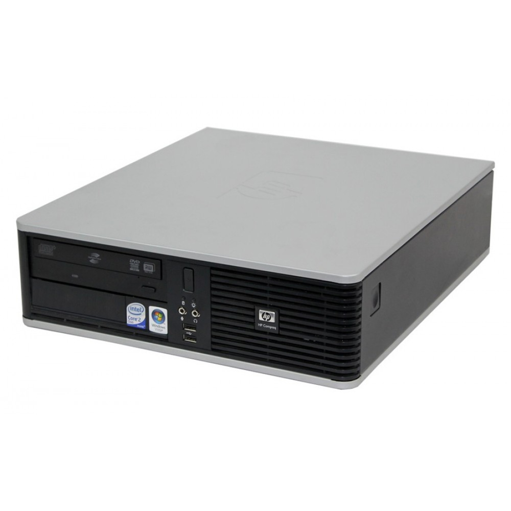 HP Desktop SQR PC DC7900 SFF, Q9400, 4GB, 160GB, DVD