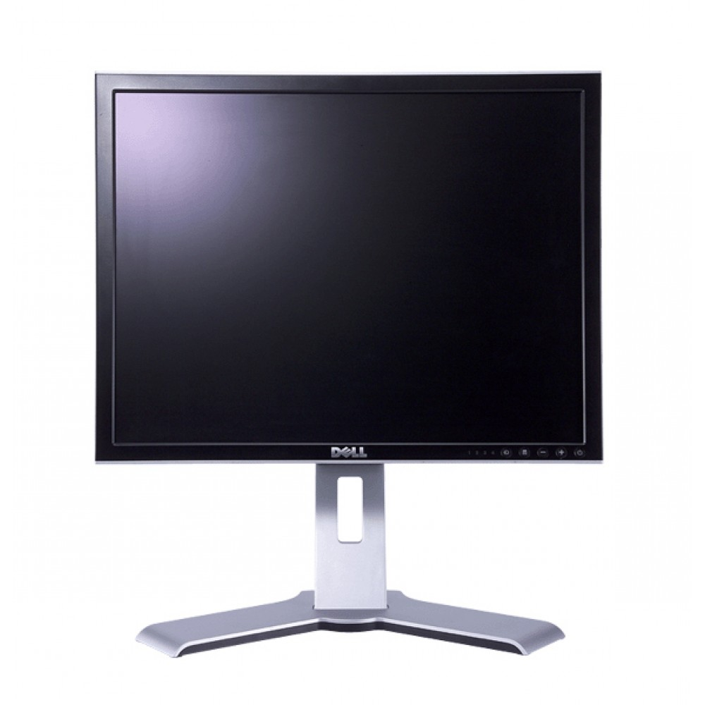 "DELL UltraSharp 2007FP LCD, 20"", 1600 x 1200, VGA/DVI/USB, SQ"