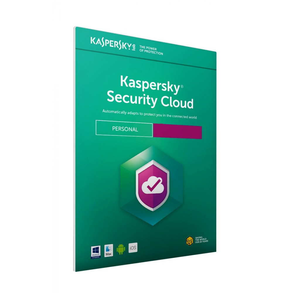 KASPERSKY Security Cloud, (5 devices, 1 user, 1 year), English